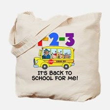 123 Back To School Tote Bag
