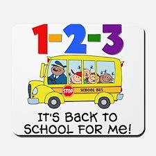 123 Back To School Mousepad