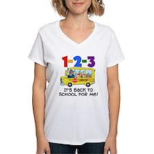 123 Back To School T-Shirt