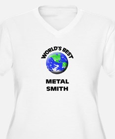 World's Best Metal Smith Plus Size T-Shirt