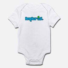 HYBRID - Logo on white Infant Bodysuit