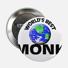 """World's Best Monk 2.25"""" Button"""
