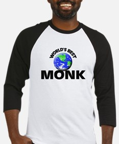 World's Best Monk Baseball Jersey