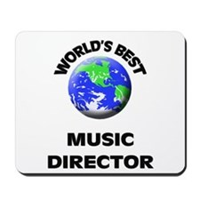 World's Best Music Director Mousepad