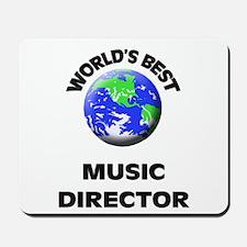 World's Best Music Director Mousepad