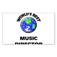 World's Best Music Director Decal