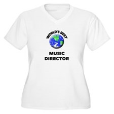 World's Best Music Director Plus Size T-Shirt