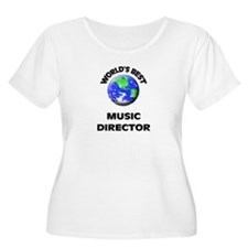 World's Best Music Director Plus Size T-Shirt