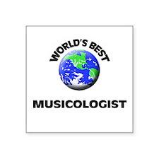 World's Best Musicologist Sticker