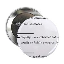 "Caffeine Communication 2.25"" Button"