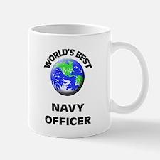 World's Best Navy Officer Mug