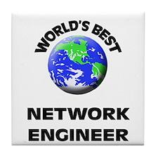 World's Best Network Engineer Tile Coaster