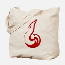 One stroke fox Tote Bag