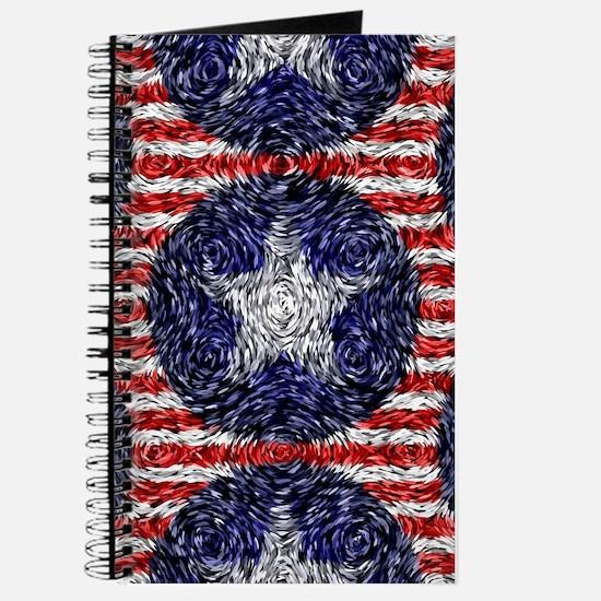 Van Gogh's Bonnie Blue Flag Journal