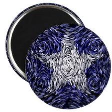 Van Gogh's Bonnie Blue Flag Magnet