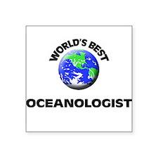 World's Best Oceanologist Sticker