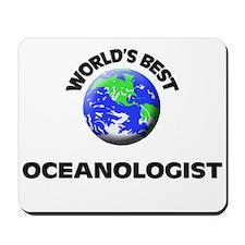World's Best Oceanologist Mousepad