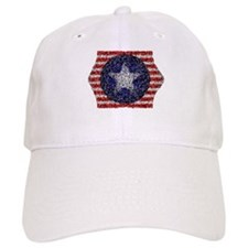 Van Gogh's Bonnie Blue Flag Baseball Cap