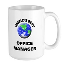World's Best Office Manager Mug
