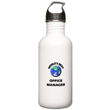 World's Best Office Manager Water Bottle