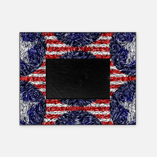 Van Gogh's Bonnie Blue Flag Picture Frame