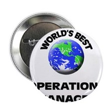"World's Best Operations Manager 2.25"" Button"