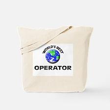 World's Best Operator Tote Bag