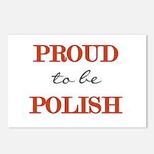 Polish Pride Postcards (Package of 8)