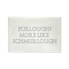 Furlough Designs Rectangle Magnet