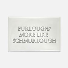 Furlough Designs Rectangle Magnet
