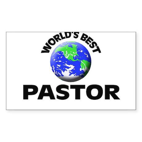 World's Best Pastor Sticker