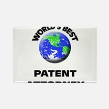 World's Best Patent Attorney Rectangle Magnet