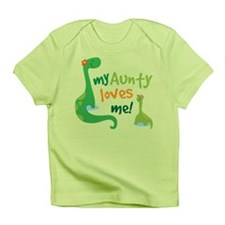 Aunty Loves Me dinosaur Infant T-Shirt