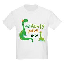 Aunty Loves Me dinosaur T-Shirt