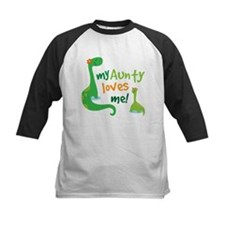 Aunty Loves Me dinosaur Tee
