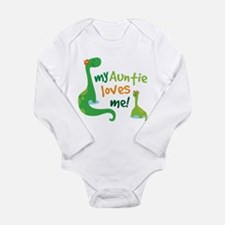 My Auntie Loves Me Long Sleeve Infant Bodysuit