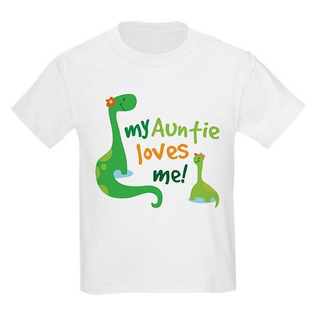 My Auntie Loves Me Kids Light T-Shirt