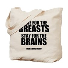 Breasts and Brains Tote Bag