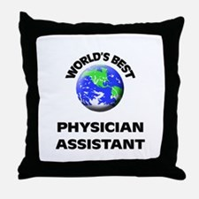 World's Best Physician Assistant Throw Pillow