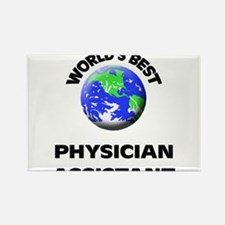 World's Best Physician Assistant Rectangle Magnet