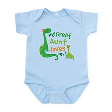 My Great Aunt Loves Me Infant Bodysuit