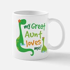 My Great Aunt Loves Me Mug