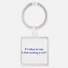 if-I-refuse-to-nap-fut-blue Keychains