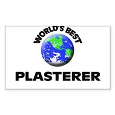 World's Best Plasterer Decal