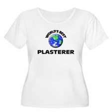 World's Best Plasterer Plus Size T-Shirt