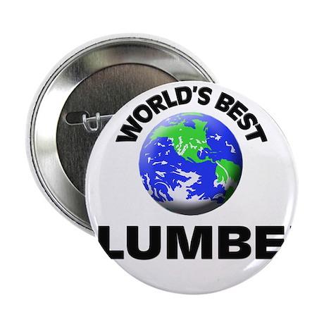 """World's Best Plumber 2.25"""" Button"""