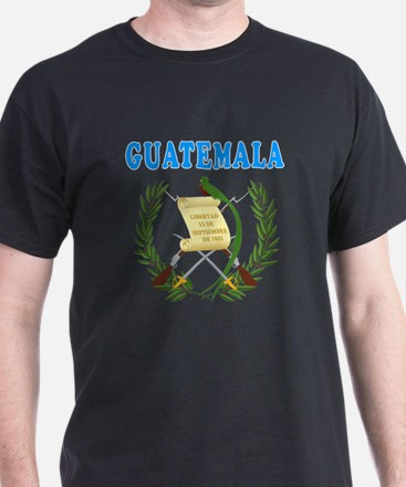 Guatemala Coat Of Arms Designs T-Shirt