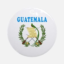 Guatemala Coat Of Arms Designs Ornament (Round)