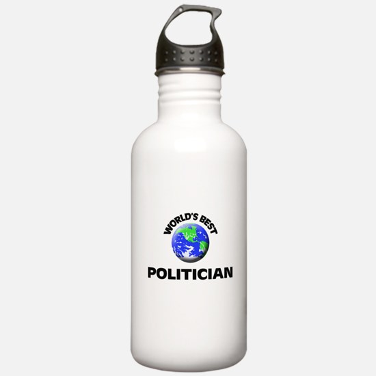 World's Best Politician Water Bottle