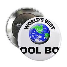 """World's Best Pool Boy 2.25"""" Button"""